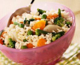 рис с овощами на зиму
