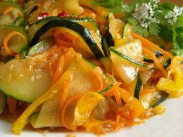 салат из кабачков рецепт