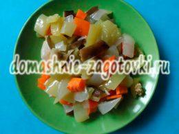 Миниатюра к статье Аппетитный салат из запеченных овощей