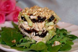 Миниатюра к статье Как приготовить салат Нежность с черносливом