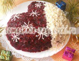 салат руковичка
