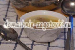 Миниатюра к статье Суп с фрикадельками и вермишелью, кулинарный рецепт с фото