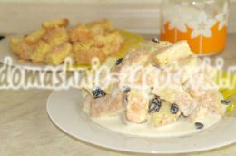 Миниатюра к статье Торт из кусочков бисквита, или вкусная «утилизация» неудавшегося бисквита