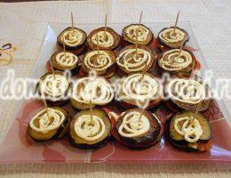тортики из баклажанов