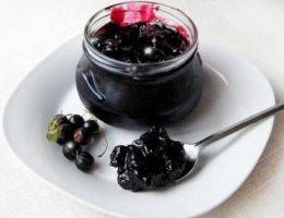 рецепт варенья из черной смородины