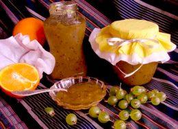 Миниатюра к статье Варенье из крыжовника с апельсинами