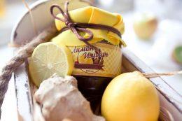 варенье с лимоном и имбирем