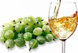 Миниатюра к статье Освежающее вино из крыжовника