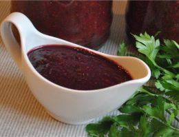 рецепт виноградного соуса