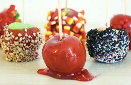 яблоки по-китайски в карамели